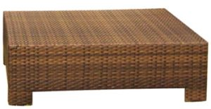 Modern Design Yellow Rattan Sofa Patio Furniture (LN-015) pictures & photos