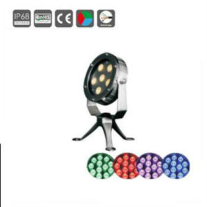Stainless Steel 6X3w LED Underwater Fountain Light pictures & photos