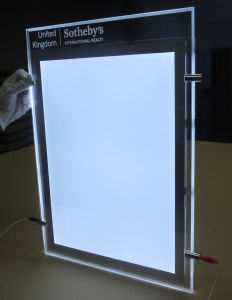 Magnetic LED Light Box with Crystal Photo Frame pictures & photos