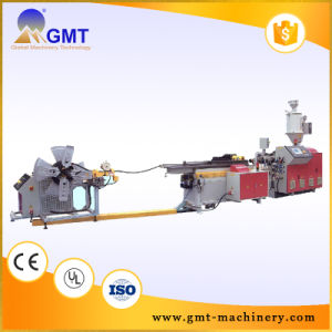 HDPE-PP PVC Double-Wall Corrugated Pipe Plastic Production Extruder Making Machine pictures & photos