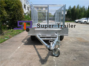 China OEM/ODM Galvanizated Utility Box Trailer