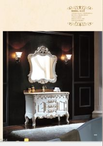 Sanitary Ware Bathroom Cabinet with European Archaize Series (6134) pictures & photos