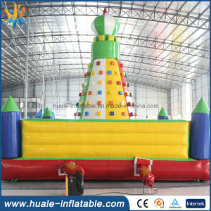 2016 Climbing Wall Inflatable Rock Climbing Wall Kids and Adults Rock Climbing Walls