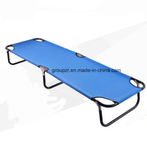 Outdoor Metal Foldable Camping Bed pictures & photos