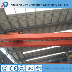 Electric Double Girder Overhead Crane 10 Ton with Hoist pictures & photos