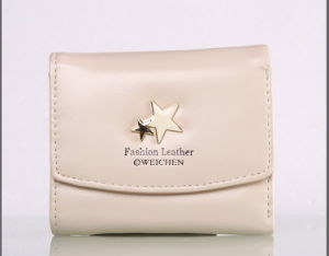 Short and Small Fresh Lady Purse Wallet pictures & photos