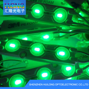 3 LED Injection 5050 Modules with Optical Lens pictures & photos