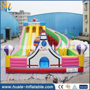 0.55mm PVC Inflatable Rocket Bouncer Castle for Sale