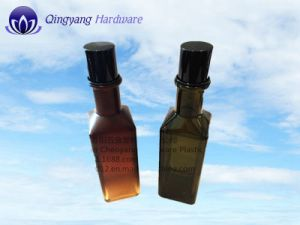 Shiny Black Aluminum-Plastic Screw Cap for 100ml Olive Oil Bottle pictures & photos