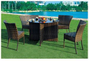 Popular Outdoor Garden Rattan Wicker Table