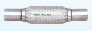 Car Exhaust Flexible Pipe with Aluminized Steel Nipples pictures & photos