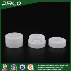 3G 10g 30g50g 100g Double Wall White Color Skin Care Cream Plastic Jars with Liner and Cap pictures & photos