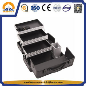 Professional Aluminium Makeup Box for Travel (HB-2031) pictures & photos