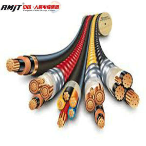 LSZH Flame Retardant XLPE Insulated Steel Wire Armored Power Cable pictures & photos
