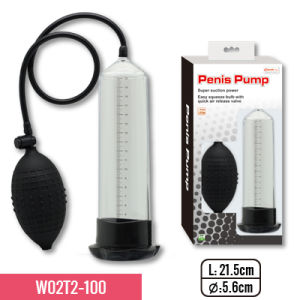"8.5""Pump Whit TPE Sleeve and Big Bulb, Super Suction for Erection Training for Adult Sex Toy pictures & photos"