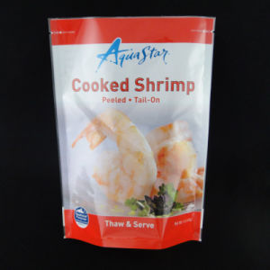 Plastic Bag Three Side Seal Pouch Frozen Seafood Packaging Bag pictures & photos