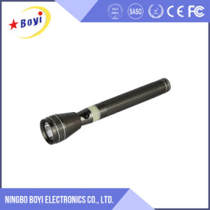 Cheap Gold High Power Rechargeable LED Torch Flashlight pictures & photos