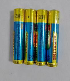 Alkaline Battery Size AAA Lr03 pictures & photos