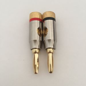 Banana Plug, High Grade Low Noise Microphone Plug pictures & photos