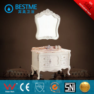 Best Price Western Style Oak Material Bathroom Cabinet (BF-8070) pictures & photos