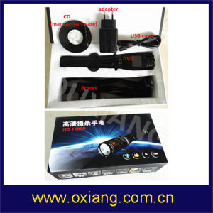 Multifunctional Police Flashlight DVR pictures & photos