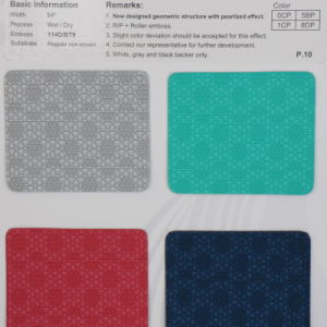 PU Shoe Lining Material Leather (HL22-08) pictures & photos