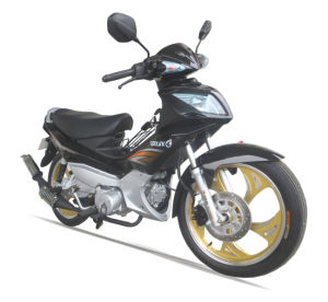 100/110cc New Alloy Wheel One/Double Clutches Cub-Type Motorcycle (SL110-C) pictures & photos