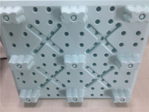 High Heavy Pallet Injection Modling Pallet 4ways of Pallet Loading Collet Cork Base Plastic Pallet pictures & photos