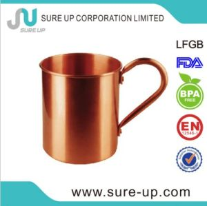 High Grade Moscow Mule Pure Copper Mug 16oz pictures & photos