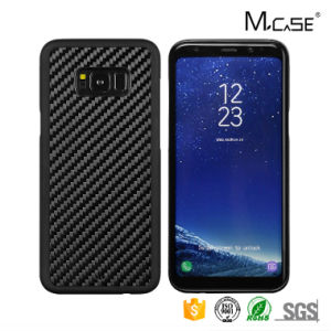 Latest Carbon Fiber Style Mobile Phone Shell for Samsung S8 Plus PC TPU Hybrid Hard Case pictures & photos