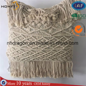 Big Size Cotton Rope Handmade Macrame Cushion pictures & photos