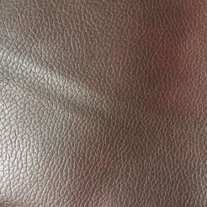 2.0mm Thick Cotton Backing PU Leather for Furniture Hx-F1703 pictures & photos