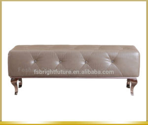 Modern Metal Frame Bed End Stool Bed Bench pictures & photos