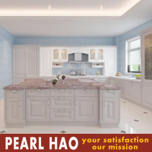 Customized Design European Style MDF Solid Wood Kitchen Cabinet pictures & photos