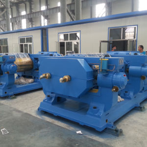 Xinda Xkp Double Roller Rubber Powder Grinder Tire Recycling Plant pictures & photos