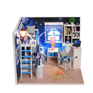 Practice Yizhi Kids Toy Wooden Dollhouse pictures & photos