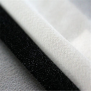 2075 Circular Knitting Polyester Fusible Interlining for Coat pictures & photos