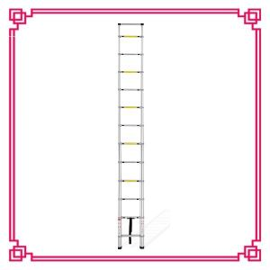 All Aluminium Connect 3.8m Single Aluminum Telescoping Ladder pictures & photos