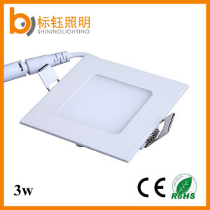 3W 3 Year Warranty No Flicker Ultrathin Slim LED Ceiling Lighting Square Panel Lamp pictures & photos