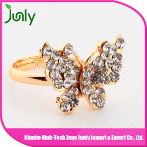 Butterfly Design Ladies Ring Design Gold Ring for Women pictures & photos