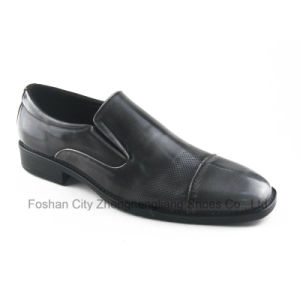 New Man Dress Footwear with Classical PU (ZNL-A1213)
