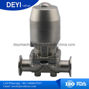 Stainless Steel Sanitary Two-Pass Diaphragm Valve (DY-V072) pictures & photos