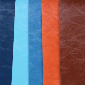 High Quality PU Synthetic Leather for Furniture pictures & photos