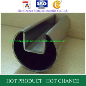ASTM A554 Stainless Steel Slot Pipe and Tube pictures & photos