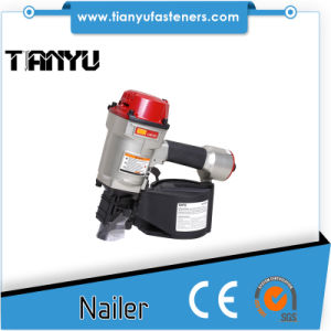 Cn70 Pneumatic Coil Nailer for Pallet Making pictures & photos