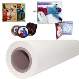 "Fs 105g Sticky Sublimation Paper with Width 64"" Length 100m pictures & photos"