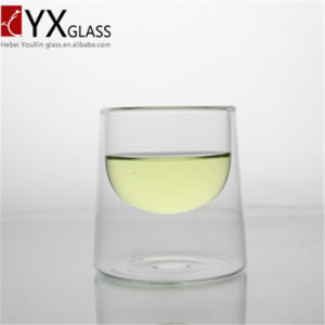 Wholesale Restaurant Home Wedding Tea Coffee Cheap Double Wall Glass Cup pictures & photos