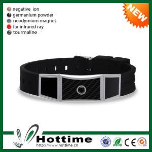 Wholesale Unisex Carbon Fiber Bracelet with Negative Ion (CP-JS-ND-012) pictures & photos