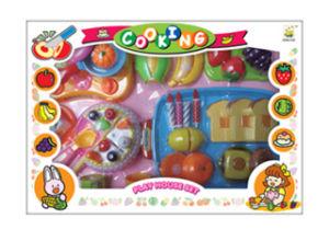 Pretend Play Toy Kids Kitchen Set Cuttable Food (H3119221) pictures & photos