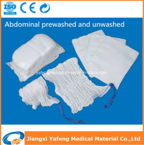 Medical Disposable Sterile Prewashed Lap Sponge 45cmx45cm-4ply pictures & photos